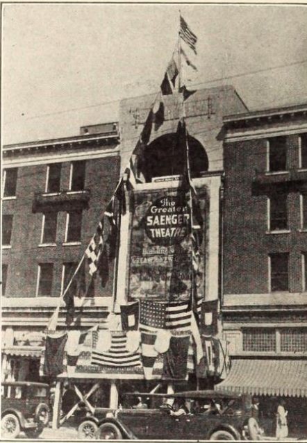 Saenger Theatre, New Orleans, LA in 1926