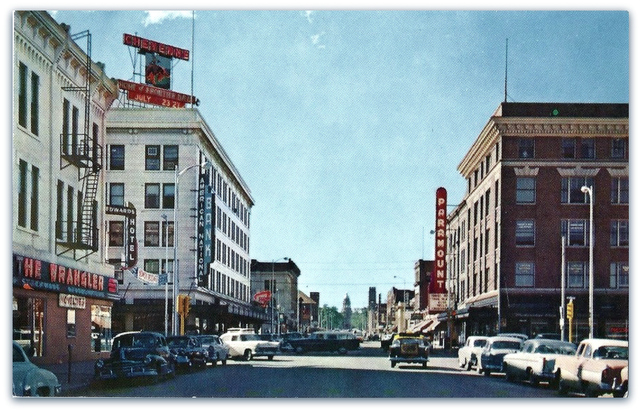 Paramount Theatre...Cheyenne Wyoming
