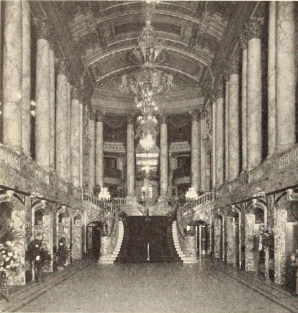 Paramount Theatre, New York, NY in 1926 - The Hall of Nations