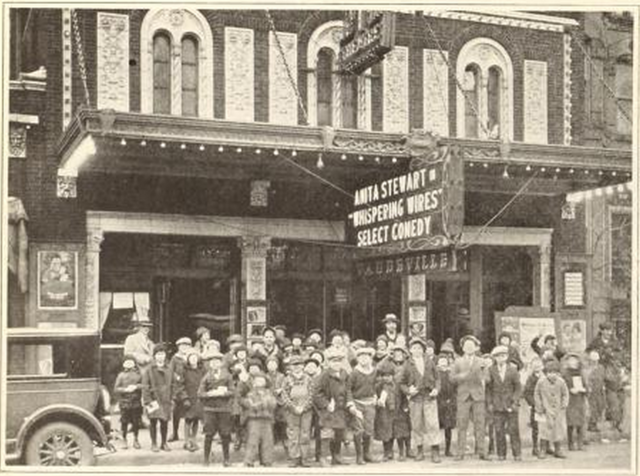 Lane Court Theatre, Chicago, IL in 1926