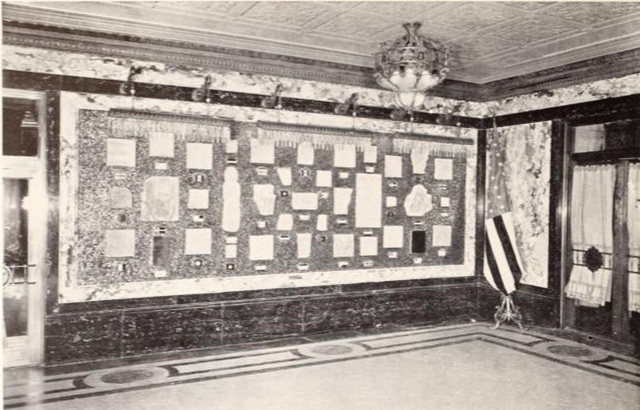 Paramount Theatre, New York, NY in 1926 - Panel in Hall of Nations