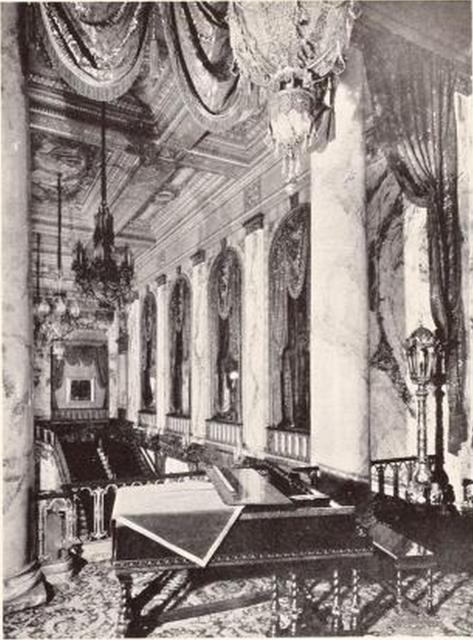 Shea's Buffalo Theatre, Buffalo, NY in 1926 - Grand Lobby viewed from the Music Room