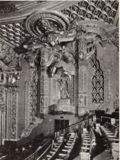 Oriental Theatre, Chicago, IL in 1926 - Central wall above Balcony
