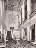 Norshore Theatre, Chicago, IL in 1926 - Foyer at rear of Orchestra and Mezzanine Floor