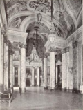 Rialto Square Theatre, Joliet, IL in 1926 - Grand Lobby viewed from entrance lobby