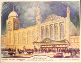 Avalon Theatre, Chicago IL  (1926 artwork)