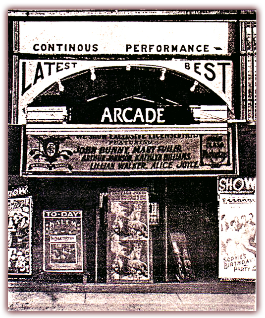 Arcade Theater...Denison Texas