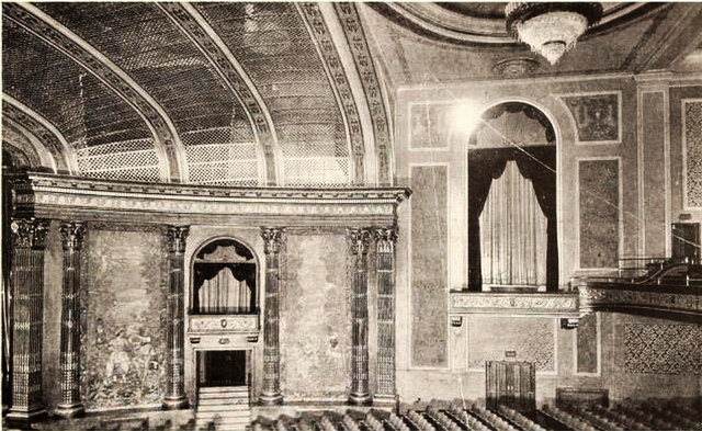 Ohio Theatre, Lima, OH in 1928