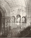 Babcock Theatre, Billings, MT in 1928 - Proscenium and sidewall