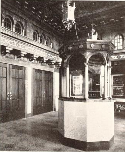 Babcock Theatre, Billings, MT in 1928 - Ticket Booth and Lobby