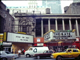 <p>The Apollo and it's next door neighbor the Times Square in 1987.</p>