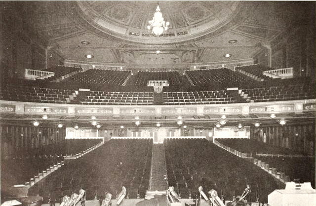 Madison Theatre, Ridgewood, NY in 1927 - Auditorium and Balcony