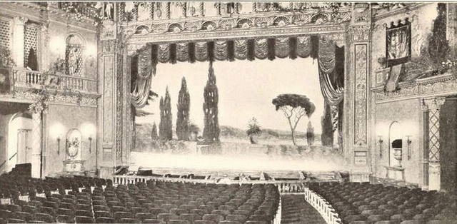 Universal Theatre, Brooklyn, NY in 1927 - Proscenium