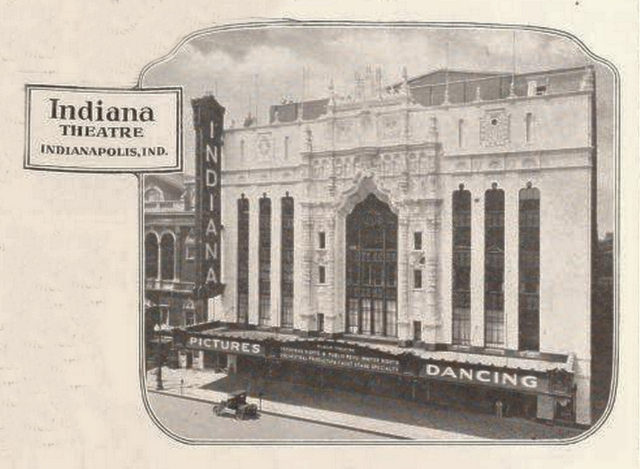 Indiana Theatre, Indianapolis, IN in 1927