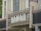 Hawaii Theatre - Closeup on Marquee