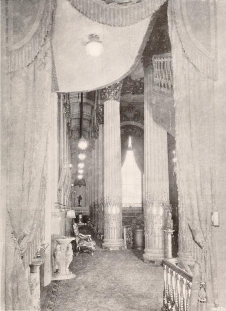 Loew's Penn Theatre, Pittsburgh, PA in 1927 - View of part of the Mezzanine