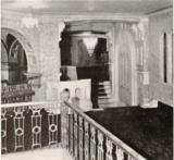 Riviera Theatre, Waterloo, IA in 1927 - Mezzanine Foyer