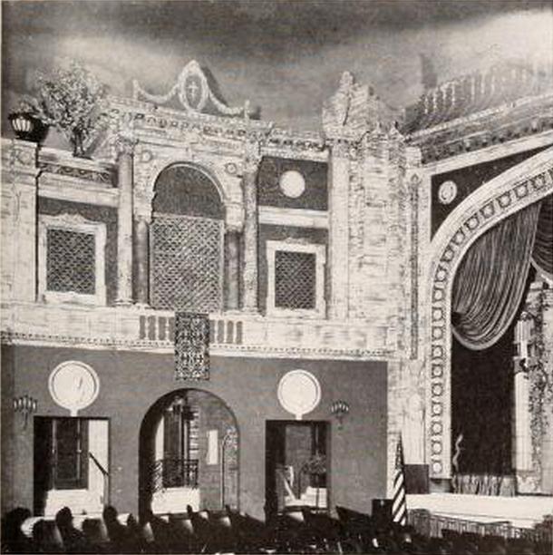 Fortway Theatre, Brooklyn, NY in 1927 - Sidewall