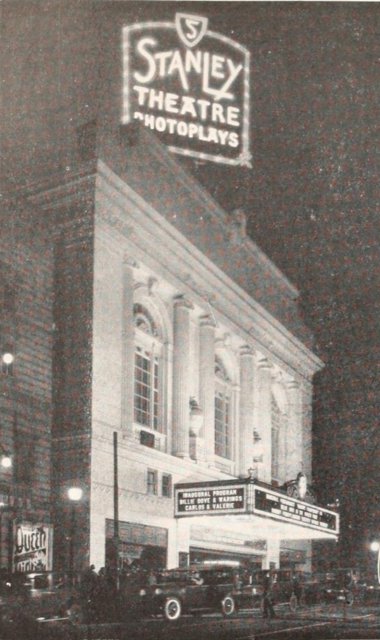 Stanley Theatre, Baltimore MD in 1928