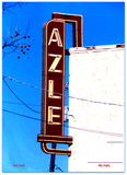 Azle Theater Sign© Fort Worth TX Don Lewis...Billy Smith