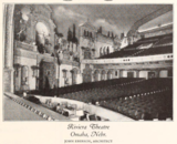 Riviera Theatre, Omaha, NE in 1927