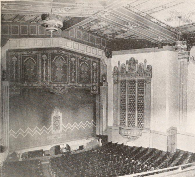 Stanford Theatre, Palo Alto, CA in 1927