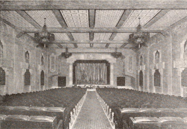 Ravenna Theatre, Los Angeles in 1927