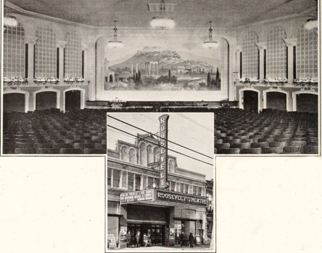 Roosevelt Theatre, Gary, IN in 1927