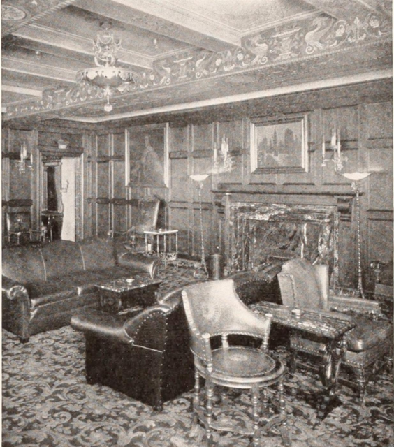 Tower Theatre, Los Angeles, CA in 1927 - Main Lounge