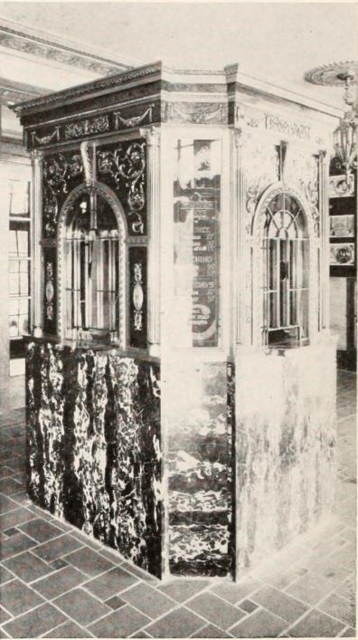Colonial Theatre, Hartford, CT in 1928 - Ticket Booth
