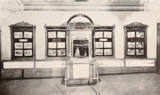 Elton Theatre, Brooklyn, NY in 1928 - Ticket booth on sidewall of lobby