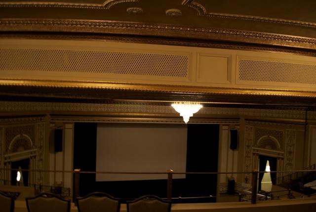 Metropolitan Theatre view from last row balcony