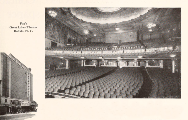 Fox's Great Lakes Theatre, Buffalo, NY in 1928
