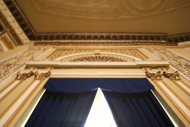 Metropolitan Theatre side balcony plaster work