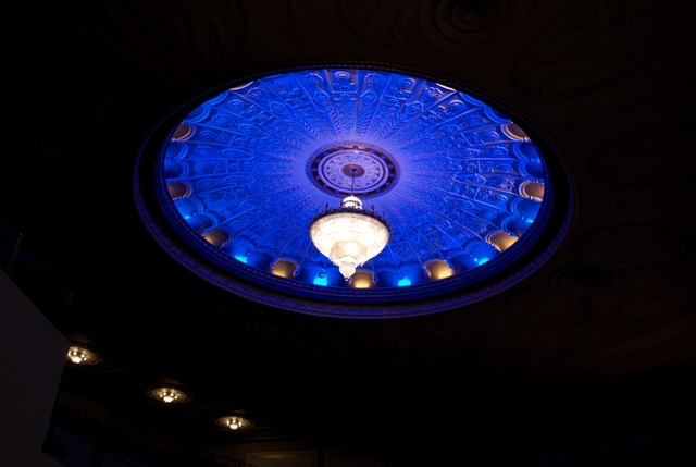 Metropolitan Theatre Auditorium chandelier