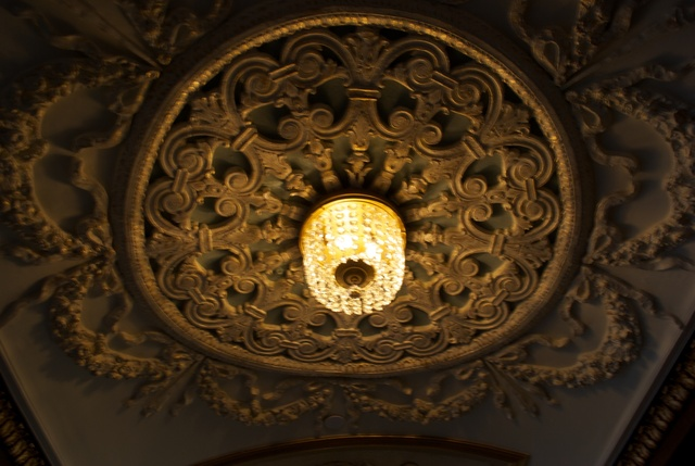 Metropolitan Theatre under balcony lighting fixture