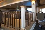Metropolitan Theatre stair rail second floor lobby