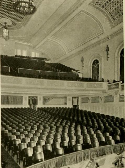 Lincoln Theatre, Lincoln, NE in 1928 - Auditorium