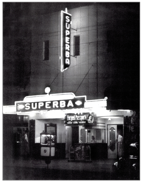 Superba Theater...Denison Texas