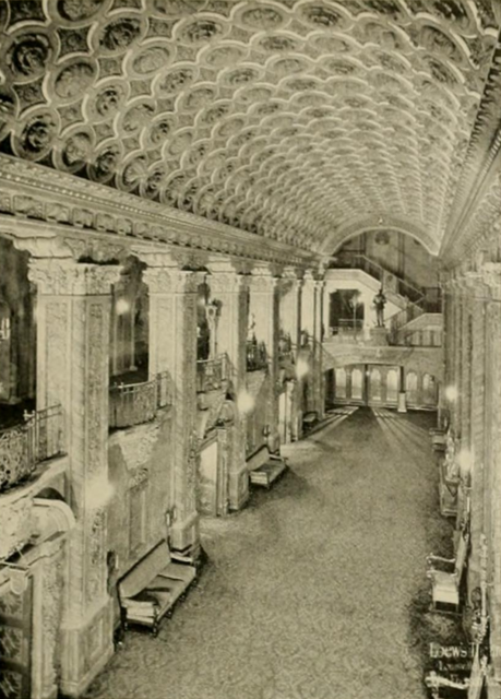 Louisville Theatre, Louisville, KY in 1928 - Main Lobby