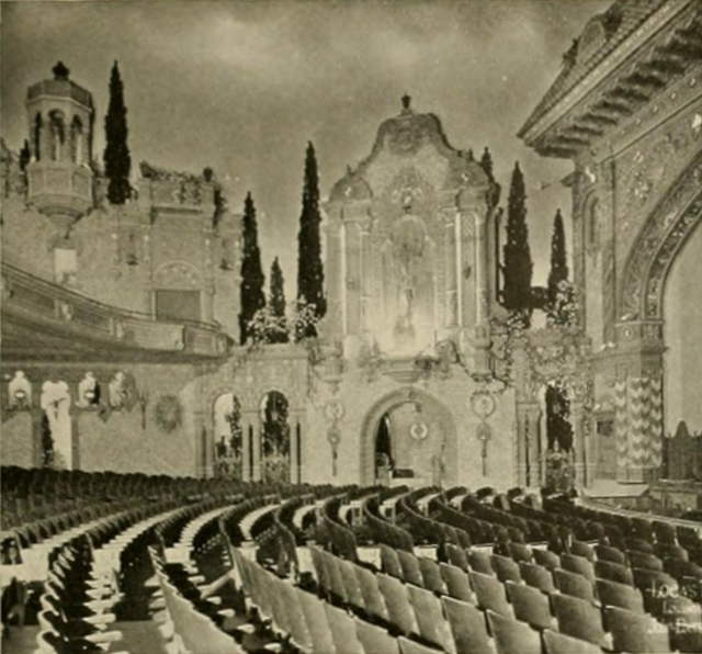 Louisville Theatre, Louisville, KY in 1928 - Left sidewall