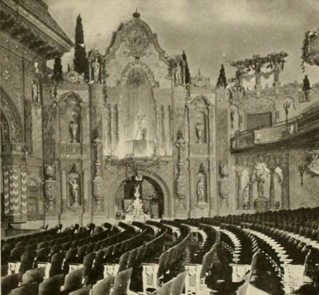 Louisville Theatre, Louisville, KY in 1928 - Right sidewall