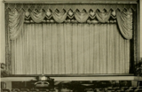 Stage drapes of the South Hills Theatre, Dormont, PA in 1928