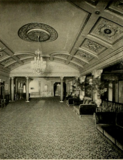 Kenmore Theatre, Brooklyn, NY in 1928 - Mezzanine  lounge