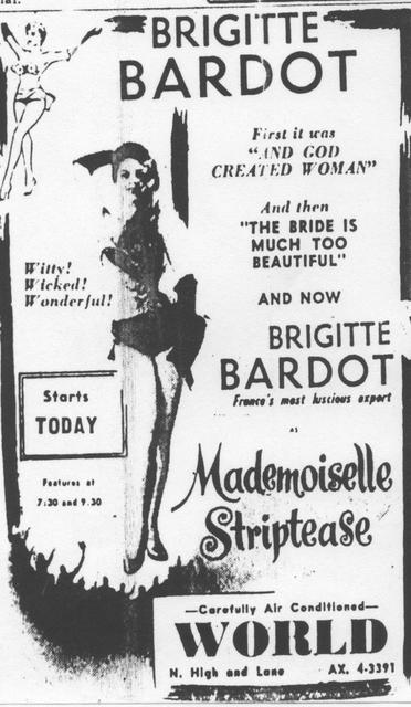 """Mademoiselle Striptease"""