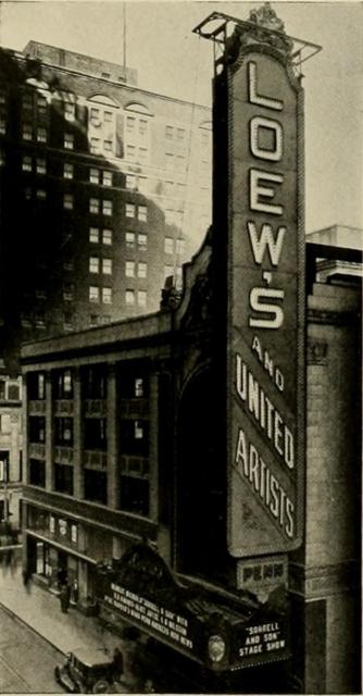Loew's Penn Theatre, Pittsburgh, PA in 1928