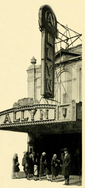 Allyn Theater, Hartford, CT in 1928
