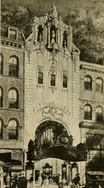 B.F.Keith Memorial Theatre, Boston, MA in 1928