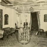 Plaza Theater, Kansas City, MO in 1928 - Cosy corner off the main lobby