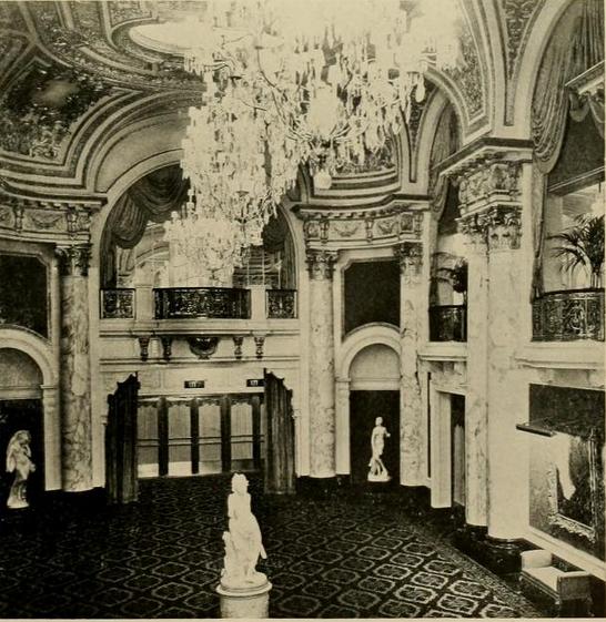 B.F.Keith Memorial Theatre, Boston, MA in 1928 - Main Foyer